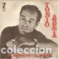 Discos de vinilo: TONIO ARETA SINGLE SELLO ZAFIRO AÑO 1964 EDITADO EN ESPAÑA. Lote 98638751