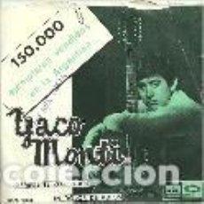 Discos de vinilo: YACO MONTI SINGLE SELLO EMI-ODEON AÑO 1966 EDITADO EN ESPAÑA. Lote 98639259