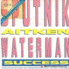 Discos de vinilo: SIGUE SIGUE SPUTNIK: SUCCESS, SINGLE EMI SPAIN 1988. Lote 98640591