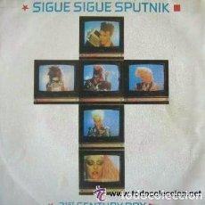 Discos de vinilo: SIGUE SIGUE SPUTNIK - 21ST CENTURY BOY - SINGLE EMI 1986. Lote 98640863