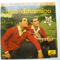 Discos de vinilo: DUO DINAMICO 'SUEÑA AMA Y CANTA' VINILO EP DE 4 CANCIONES DEL AÑO 1962 ES UN EP. Lote 98641203