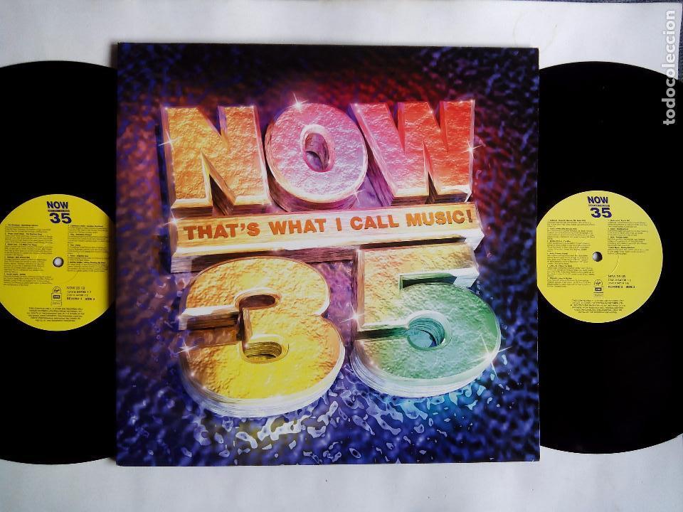 NOW THAT'S WHAT I CALL MUSIC ! 35. LP DOBLE EMI VIRGIN 7243 8 54708 13. UK 1996. SPICE GIRLS. SUEDE. (Música - Discos - LP Vinilo - Pop - Rock Extranjero de los 90 a la actualidad)