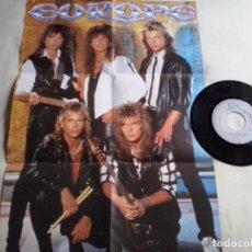 Discos de vinilo: MUSICA SINGLE:EUROPE - ROCK THE NIGHT. EDICIÓN ESPECIAL LIMITADA. INCLUYE POSTER A TODO COLOR (ABLN). Lote 98651611