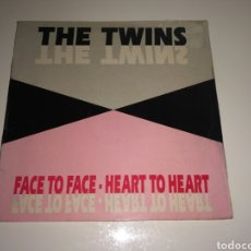 Discos de vinilo: THE TWINS - FACE TO FACE - HEART TO HEART. Lote 98659051
