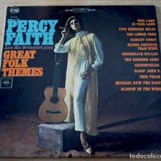 Discos de vinilo: PERCY FAITH GREAT FOLK THEMES - ED USA - LP. Lote 98659559