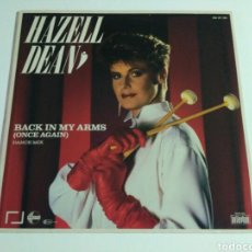 Discos de vinilo: HAZELL DEAN - BACK IN MY ARMS (ONCE AGAIN) . Lote 98659871