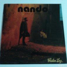 Discos de vinilo: NANDO - AMOR Y VIENTO (LP). Lote 98664496
