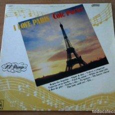 Discos de vinilo: 101 STRINGS I LOVE PARIS COLE PORTER - LP. Lote 98665195