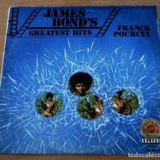 Discos de vinilo: FRANCK POURCEL JAMES BOND´S CREATEST HITS - LP. Lote 98665559