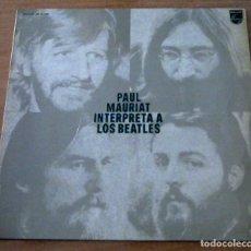 Discos de vinilo: PAUL MAURIAT INTERPRETA A LOS BEATLES - LP. Lote 98665631
