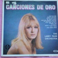 Discos de vinilo: THE LARRY PAGE,CANCIONES DE ORO EDICION ESPAÑOLA DEL 69. Lote 98669123