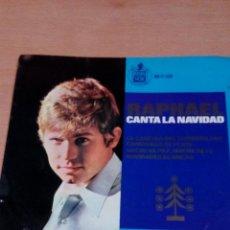Discos de vinilo: RAPHAEL - CANTA LA NAVIDAD .. - BUEN ESTADO - VER FOTOS. Lote 98669691