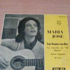 Discos de vinilo: MARIA JOSE - LAS HOJAS VERDERS - LA CANCION DEL ALAMO - .... - VER FOTOS - BUEN ESTADO . Lote 98670735