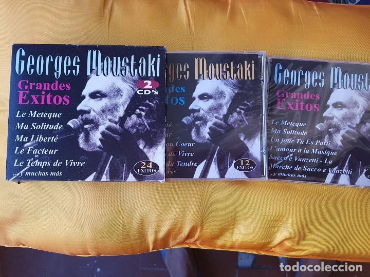 GEORGES MOUSTAKI. GRADES EXITOS (Música - Discos de Vinilo - Maxi Singles - Cantautores Extranjeros)