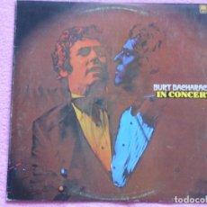 Discos de vinilo: BURT BACHARACH,IN CONCERT EDICION ESPAÑOLA DEL 75. Lote 98671223