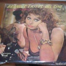 Discos de vinilo: LP DE ORQUESTA DIMITRI PAPADOPOULOS, GRANDES EXITOS DE CINE VOL. 5. EDICION OLYMPO DE 1975. D.. Lote 98676659