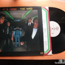 Discos de vinilo: THE WHO IT'S HARD LP USA 1982 PDELUXE. Lote 98680839