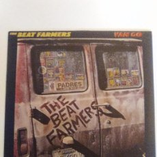 Discos de vinilo: THE BEAT FARMERS VAN GO ( 1986 CURB RECORDS GERMANY ) CRAIG LEON NUEVO ROCK AMERICANO. Lote 98681419