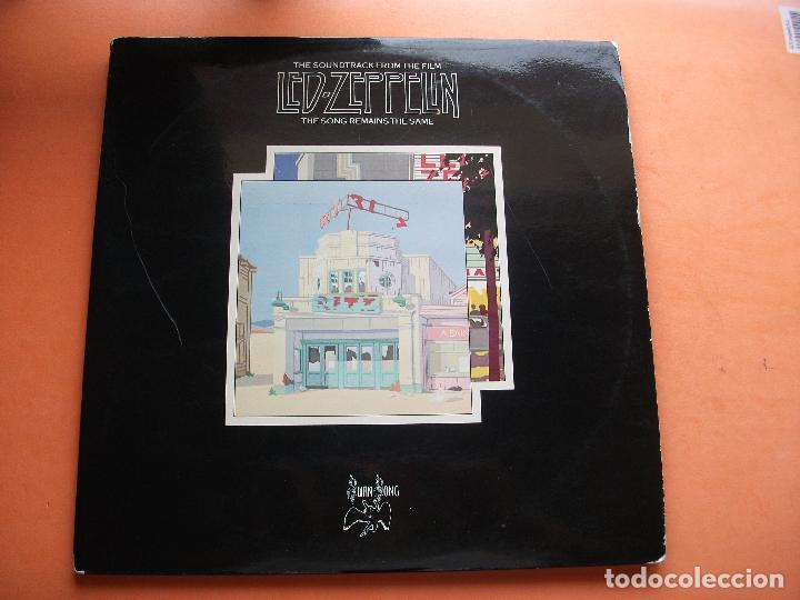 LED ZEPPELIN THE SONG REMAINS THE SAME DOBLE LP SPAIN 1976 PDELUXE (Música - Discos - LP Vinilo - Pop - Rock - Extranjero de los 70)