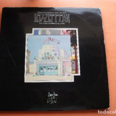 Discos de vinilo: LED ZEPPELIN THE SONG REMAINS THE SAME DOBLE LP SPAIN 1976 PDELUXE. Lote 98682135
