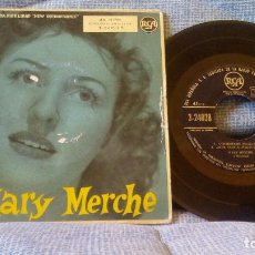 Discos de vinilo: MARY MERCHE - CONTESTAME + 3 (EP ESPAÑOL DE 4 CANCIONES) SELLO RCA SIN FECHA. Lote 98683131