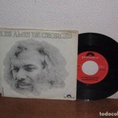 Discos de vinilo: GEORGES MOUSTAKI 7´´ MEGA RARE VINTAGE GERMANY 1974. Lote 98683923
