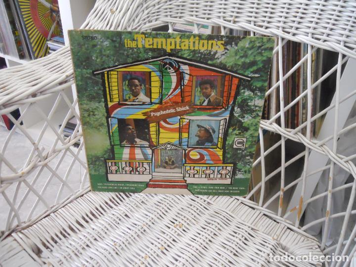 THE TEMPTATIONS– PSYCHEDELIC SHACK.LP ORIGINAL USA 1970.SOUL/PSICODELIA.SELLO GORDY.VG/VG (Música - Discos - LP Vinilo - Funk, Soul y Black Music)