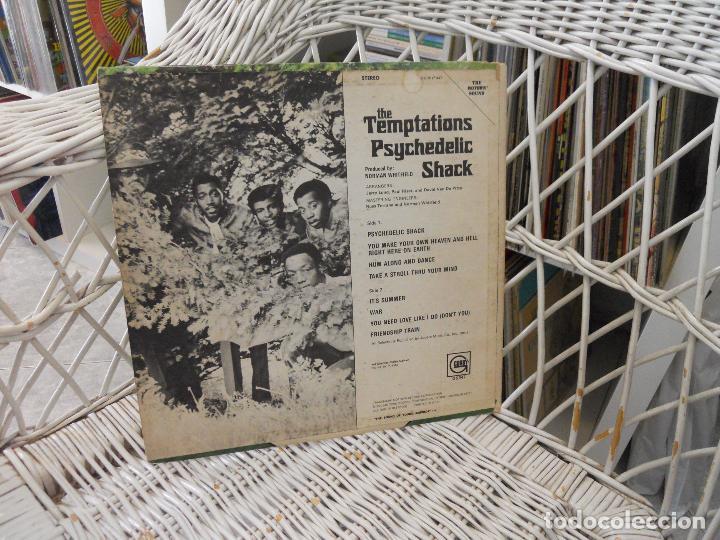 Discos de vinilo: The Temptations– Psychedelic Shack.lp original usa 1970.soul/psicodelia.sello gordy.vg/vg - Foto 2 - 98688963
