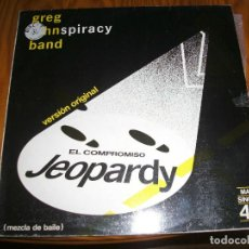 Discos de vinilo: GREG KIHN BAND . JEOPARDY EL COMPROMISO MAXI SINGLE.............................A. Lote 98692895