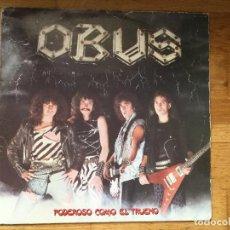 Discos de vinilo: OBUS ?– PODEROSO COMO EL TRUENO. Lote 98694231