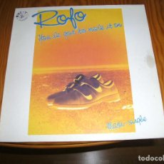 Discos de vinilo: ROFO YOU´NE GOT TO MAVE IT ON MAXI SINGLE...............A. Lote 98695283