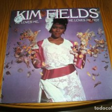 Discos de vinilo: KIM FIELDS ,HE LOVES ME,HE LOVES ME NOT MAXI SINGLE.................A. Lote 98695799