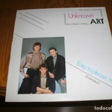 Discos de vinilo: UNKNOWN ART,EASY TO PLEASE ME (EXTENDED) MAXI SINGLE...................A. Lote 98697379