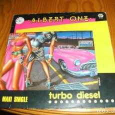 Discos de vinilo: ALBET ONE,TURBO DIESEL MAXI SINGLE....................A. Lote 98697631