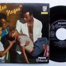 Discos de vinilo: ORFEO NEGRO. EP PHILIPS 432 387 BE. ESPAÑA 1960. ANTONIO CARLOS JOBIM. LUIZ BONFA. BOSSA NOVA.. Lote 98698375