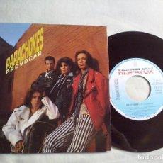 Discos de vinilo: MUSICA SINGLE: PARACHOKES - PROVOCAR (ABLN). Lote 98703711