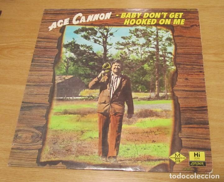 ACE CANNON .- BABY DON´T GET HOOKED ON ME. segunda mano