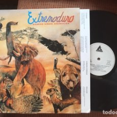 Discos de vinilo: VINILO EXTREMODURO SOMOS UNOS ANIMALES RARO MAREA BARRICADA ROSENDO. Lote 98709832