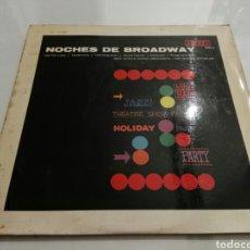 Discos de vinilo: THE NEW WORLD SHOW ORCHESTRA- LP NOCHES DE BROADWAY- ORLADOR 1964 ESPAÑA 1. Lote 98713316