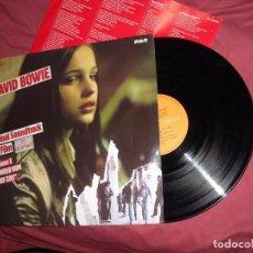 Discos de vinilo: DAVID BOWIE YO CRISTINA F. LP CON ENCARTE 1981 RCA ESP BANDA SONORA. Lote 98713419