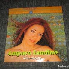 Discos de vinilo: AMPARO SANDINO - ASI ES MI GENTE - MAXI - DRO - MADE IN GERMANY - IBL -. Lote 98717159