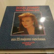 Discos de vinilo: ROCIO JURADO- LP HASTA LA ULTIMA GOTA- 2LP EMI 1989 1. Lote 125184752