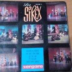 Discos de vinilo: LOS SIREX MUCHACHA BONITA (JOSÉ SOLÁ) - EP SPAIN 1964 - VERGARA 35.0.087 C (REF-1AC). Lote 98718403