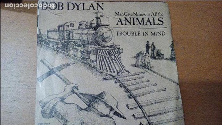 BOB DYLAN ANIMALS SINGLE 1979 (Música - Discos - Singles Vinilo - Pop - Rock - Extranjero de los 70)