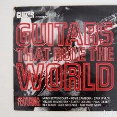 Discos de vinilo: LP. VINILO - GUITARS THAT RULE THE WORLD - MUSIC FOR NATIONS 1991. Lote 98719991