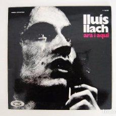 Discos de vinilo: LP. VINILO - LLUIS LLACH - ARA I AQUÍ - MOVIEPLAY 1972. Lote 98721635