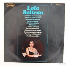 Discos de vinilo: LP. VINILO - LOLA BELTRAN - HISPAVOX 1966. Lote 98723875