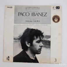 Discos de vinilo: LP. VINILO - PACO IBAÑEZ - LOS UNOS POR LOS OTROS - POLYDOOR 1970. Lote 98724015