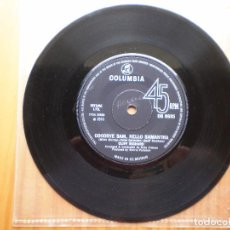 Discos de vinilo: SINGLE 1970 CLIFF RICHARD / GOODBYE SAM , HELLO SAMANTHA / YOU NEVER CAN TELL , MAS FOTOS. Lote 98725647