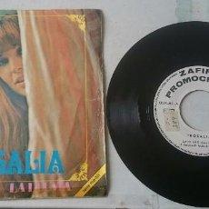 Discos de vinilo: ROSALÍA: CIELO GRIS / LA LLUVIA (ZAFIRO 1969). Lote 98729711
